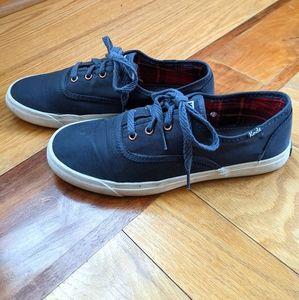 KEDS Triumph Nylon navy sneaker
